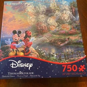 Disney Thomas Kincaid puzzle
